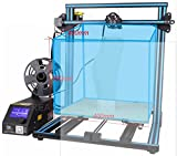 The classical hot sale Creality CR-10 3D printer with precison prusa I3 plus large size 400~400~400 mm metal frame linear guide rail for xyz axis +high price performance ratio