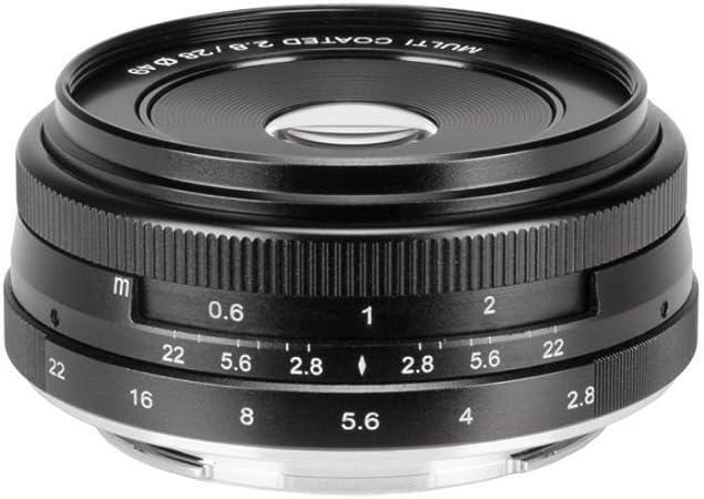 Meike Optics 19610001 Objektiv 28mm F2 8 Sony E Mount Kamera