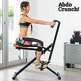 New Ab Crunch Total Toner Bench Home Fitness Machine Abdo Abdominal Exerciser UK
