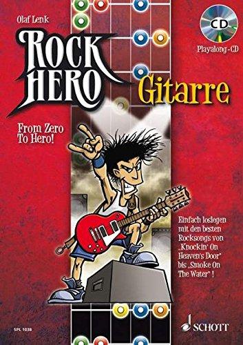 Rock Hero   Gitarre  From Zero To Hero. E Gitarre. Lehrbuch Mit CD.  Schott Pro Line