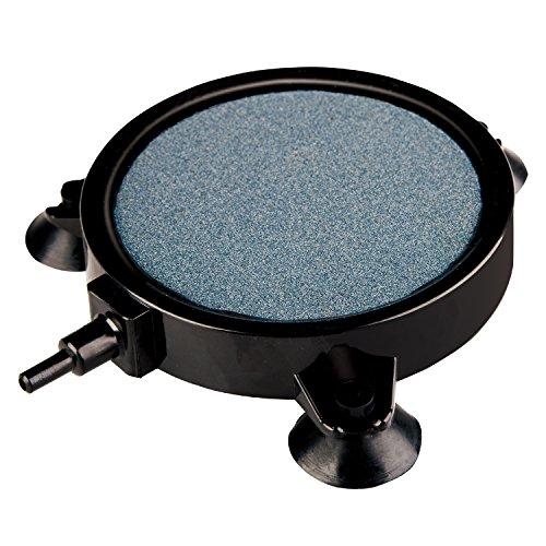 VIVOSUN 4 Inch Air Stone Disc with Shell and Sucker for Hydroponics Aquarium Tank Pump (4 Inch)