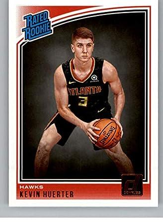 size 40 bc4ba 1d43c Amazon.com: 2018-19 Donruss #184 Kevin Huerter Atlanta Hawks ...