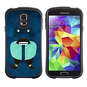 Suave TPU GEL Carcasa Funda Silicona Blando Estuche Caso de protección (para) Samsung Galaxy S5 / CECELL Phone case / / Funny Abstract Face /