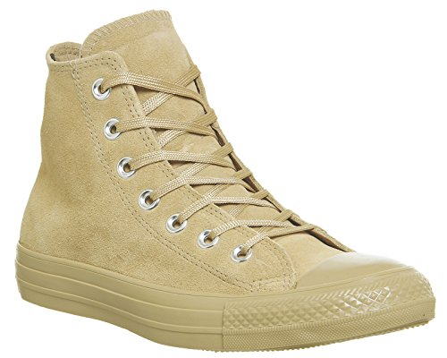 Conversare Come Hi Can Carboncino 1j793 Unisex Adulto Sneaker Marrone Beige