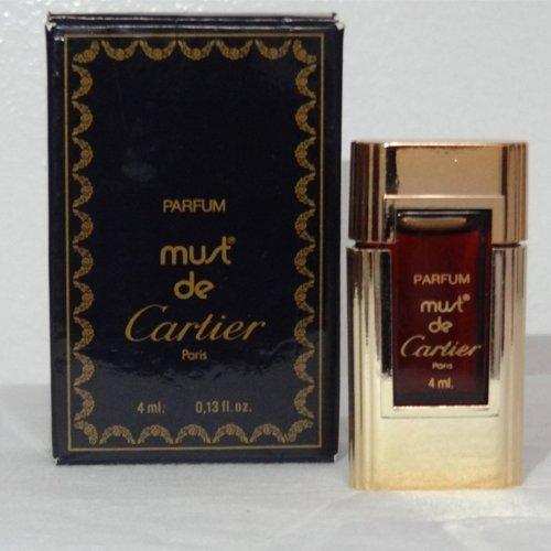 Amazoncom Original Must De Cartier For Women 4 Ml013 Oz Parfum