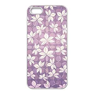 Purple Maple leaf Hight Quality Plastic Case for Iphone 5s