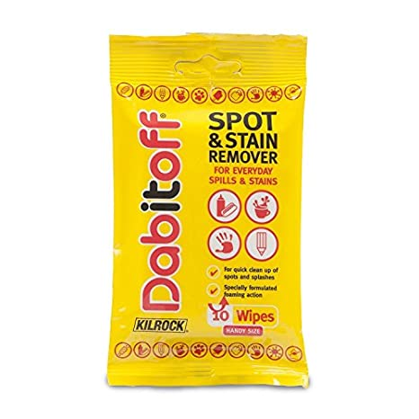 Kilrock dabitoff toallitas quitamanchas para ropa (10 unidades)