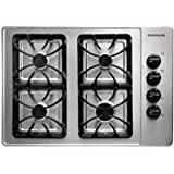 Frigidaire FFGC3015LS30 Stainless Steel Gas Sealed Burner Cooktop