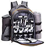 Hap Tim - 4 Person Picnic Backpack with Stainless