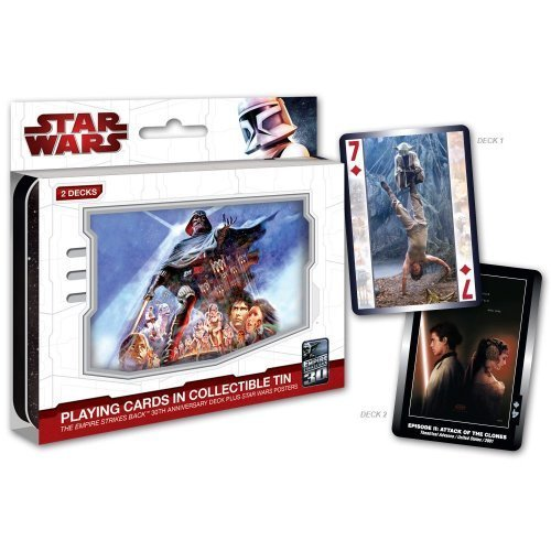 Star Wars The Empire Strikes Back Playing Cards Tin Set