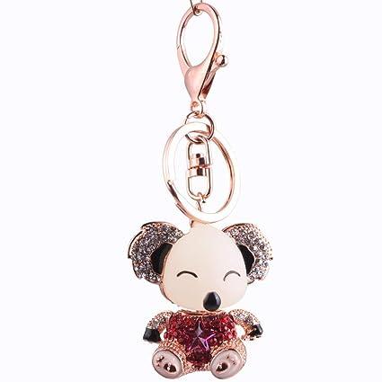 Llavero Encantador Koala Oso Animal Diamante Cristal ...