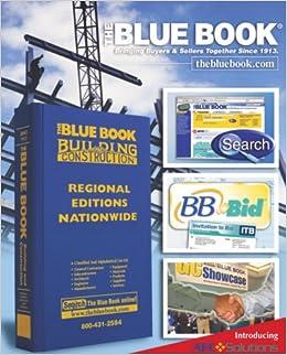 Construction Blue Book >> The Blue Book Building Construction South Florida