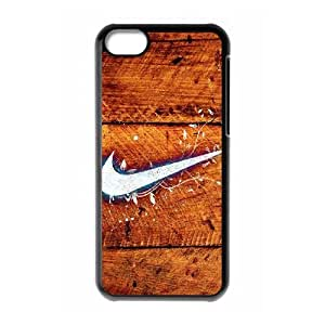 Nike Logo caso 5c funda iPhone L6M83T2TX funda 2OGP27 negro