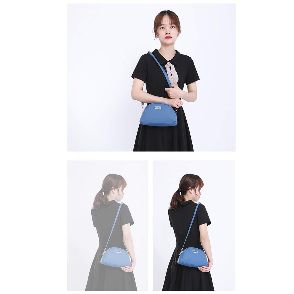 ballboU Women Fashion Handbag Shoulder Bag Lady Leather Crossbody Evening Bag