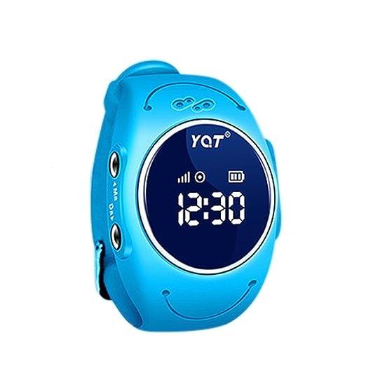 BJESSENCE 1PC Q520S Smart Watch Teléfono Niños GPS Tracker Anti-perdida Alarma IP68 a prueba