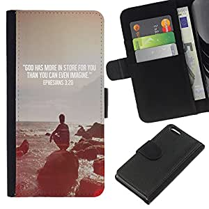 All Phone Most Case / Oferta Especial Cáscara Funda de cuero Monedero Cubierta de proteccion Caso / Wallet Case for Apple Iphone 5C // Quote Religion Epiphany Christian