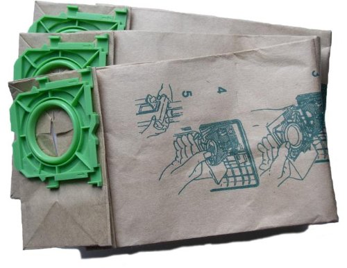 Windsor Sensor, Versamatic Plus, Sebo & Kenmore 50015 Vacuum Bags 3 Ply Microfiltration with Closure - 10 Pack - 3 Replacement Kenmore Bags