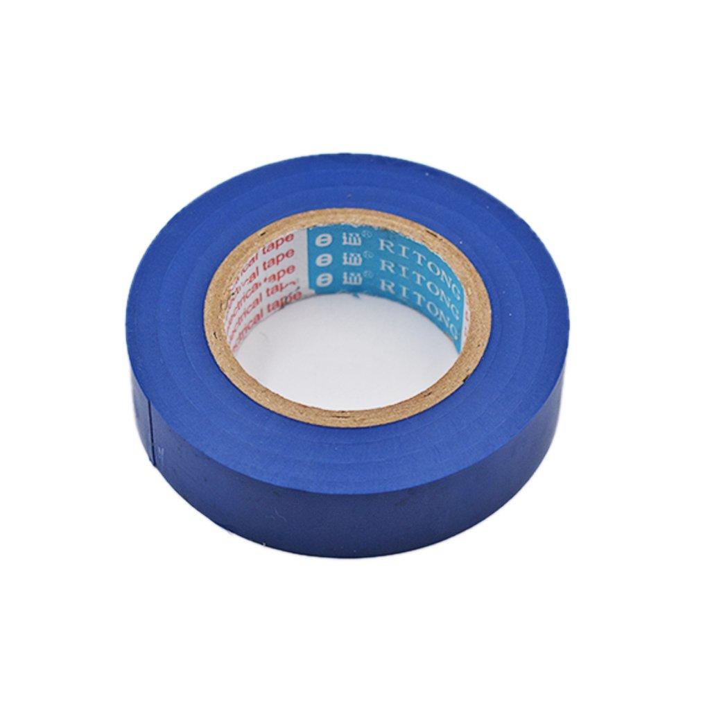 20 x 17 mm Ogquaton /Ruban isolant /électricien Ruban imperm/éable /à haute viscosit/é bleu cr/éatif et utile