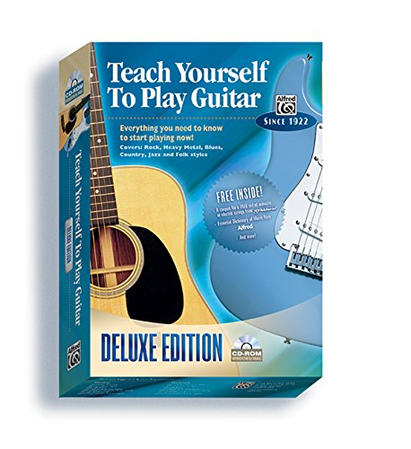 Alfred's Teach Yourself to Play Guitar: Everything You Need to Know to Start Playing Now!, CD-ROM (Teach Yourself ()