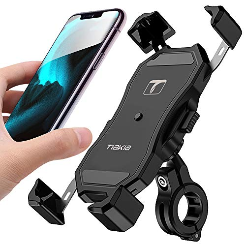 Tiakia-Bike-Phone-Holder-Bicycle-Motorcycle-Cell-Phone-Mount-One-Handed-Operation-with-360-Rotation-for-iPhone-11-Pro-Max-X-XR-Xs-7s-8-Plus-Samsung-S20-S7S6Note10984-GPS