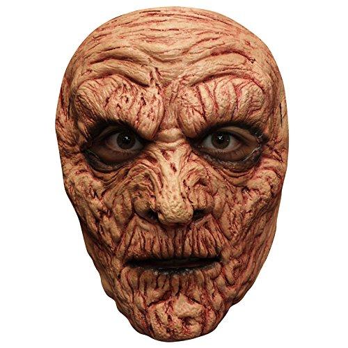 Generic mahal636-Mummy Brulée Latex Mask-ADULT ONE -