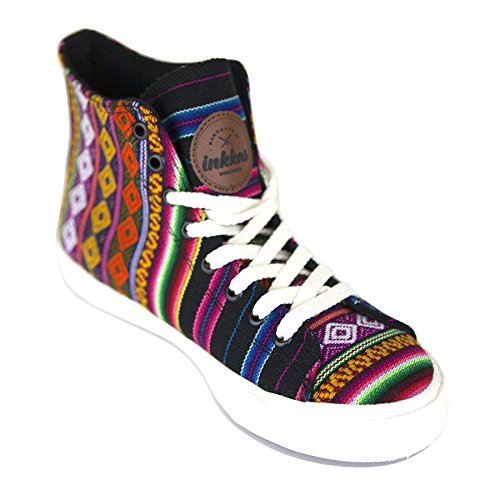 Black Spectrum High Top (Mens 8 / Womens 10)