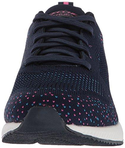 Diamond Quarter BOBS Pink Skechers Navy Sneaker Blue Nvpk WoMen Squad twZBqxqIRv