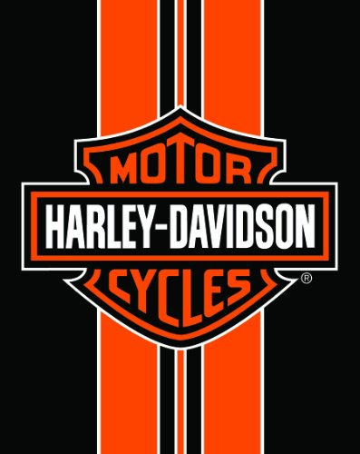 Harley Davidson Towel Jumbo Deluxe The Legend Continues ()