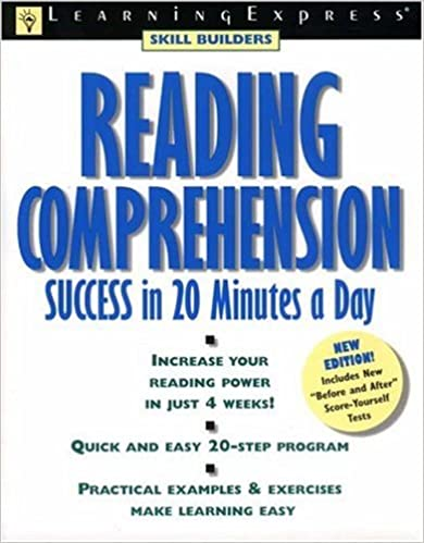 Amazon reading comprehension success skill builders reading comprehension success skill builders learningexpress 2nd edition fandeluxe Image collections