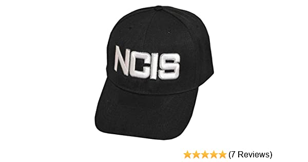 c8dc46ed68102 Naval Criminal Investigative Service NCIS Cap Hat-black-adjustable at  Amazon Men s Clothing store