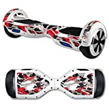 MightySkins Protective Vinyl Skin Decal for Self Balancing Scooter Board wrap cover sticker skins Red Camo