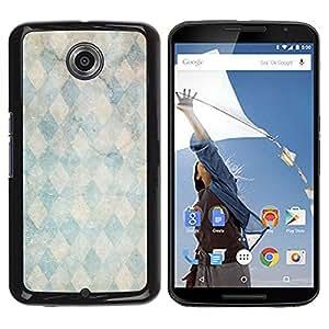 Be Good Phone Accessory // Dura Cáscara cubierta Protectora Caso Carcasa Funda de Protección para Motorola NEXUS 6 / X / Moto X Pro // Marble Stone Pattern Teal