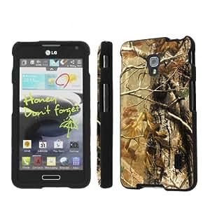 NakedShield LG Optimus F6 D500 Hunter Camouflage Total Hard Armor Art Phone Case