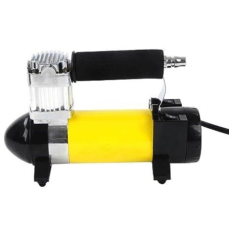 Yahya® 12V 140 PSI Portable Auto Aire Neumático Bomba del Coche de Compresor de Aire ...