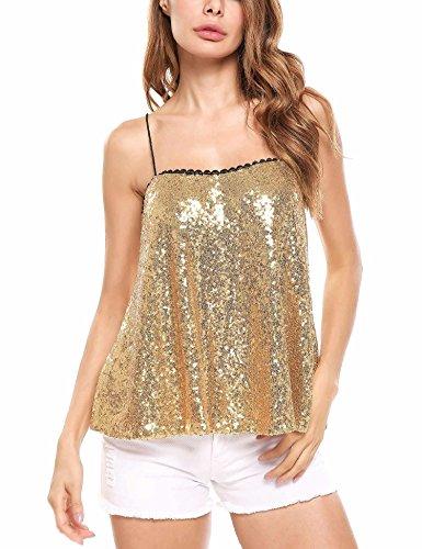 Gold Glitter Top - 1