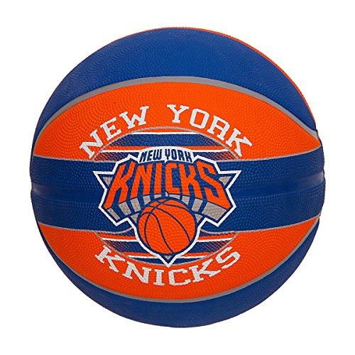 Spalding New York Knicks Basketball Size 7  Multicolor