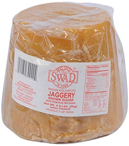Swad Indian Kolhapuri Jaggery - 4.4 Pounds