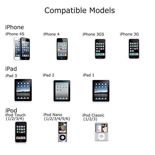 apple certified  acepower u00ae 10 feet  3m  30 pin usb sync