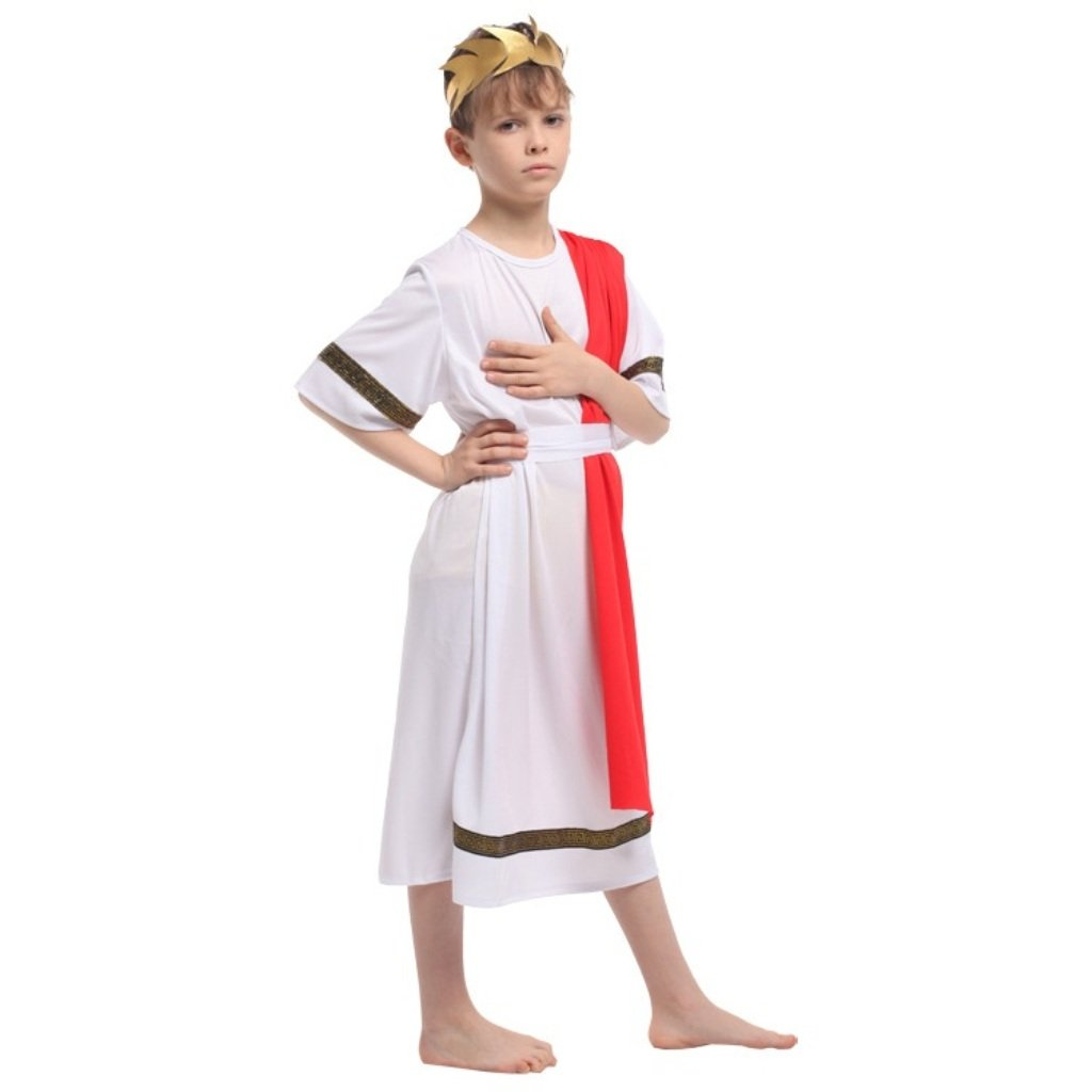 Amazon.com: Shanghai Story Kids Prince disfraz de romano ...