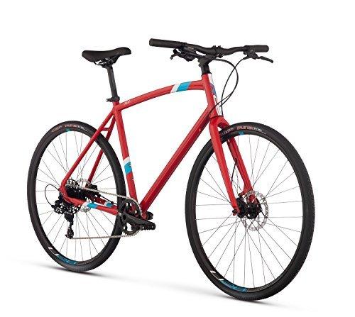 Raleigh Bikes Raleigh Cadent 4 Urban Fitness Bike 17 Frame Red 17 / Medium [並行輸入品] B078HXXRJN