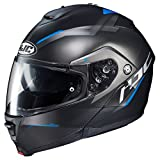HJC IS-MAX 2 Modular Helmet - Dova (X-LARGE) (BLACK/BLUE)