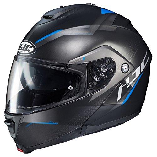 HJC is-MAX 2 Modular Helmet - Dova (Large) (Black/Blue)