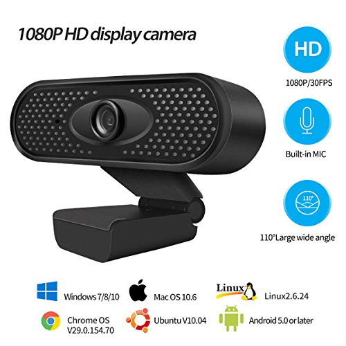 HD 1080p Webcam Built