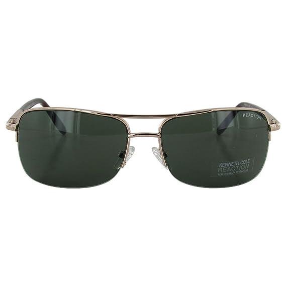426edc994e Kenneth Cole Reaction 'KC1149' Sunglasses,Shiny Light Gold: Amazon.com.mx:  Ropa, Zapatos y Accesorios