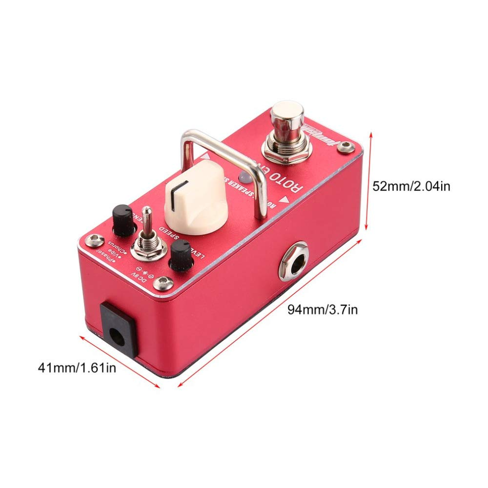 Amazon.com : are-3 Roto Engine Rotary Speaker Simulator Mini Single Electric Guitar Effect Pedal with True Bypass : Sports & Outdoors