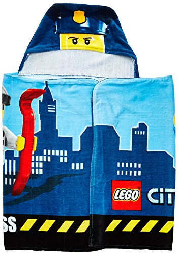 Lego City Hooded Towel Beach