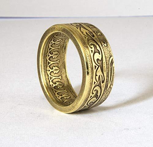 Tunesische Ringcoinring Münzring Ring Aus Münze Handgemacht