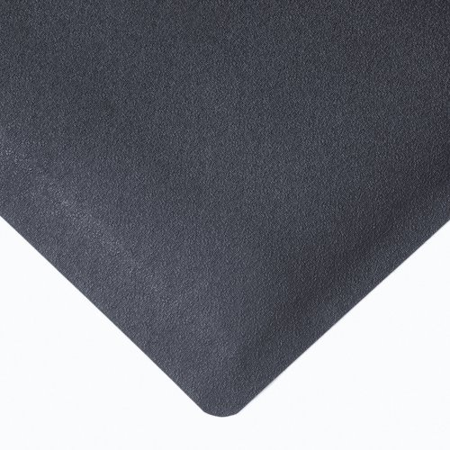 NoTrax Rubber 480 Pebble Trax Anti-Fatigue Mat, for Dry Areas, 3' Width x 12' Length x 1/2'' Thickness, Black by NoTrax