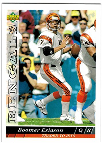 - 1993 Upper Deck Cincinnati Bengals Team Set with Boomer Esiason & 2 Carl Pickens - 22 Cards