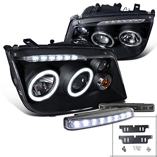 02 Vw Volkswagen Jetta Headlight - 5